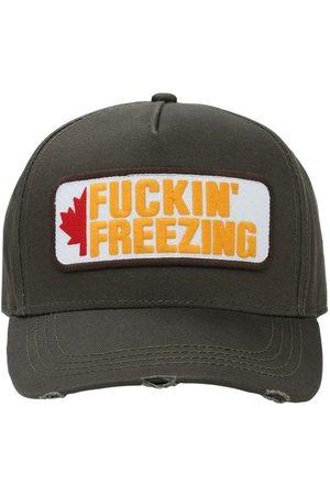 Dsquared2 Freezing Patch Canvas Baseball Hat