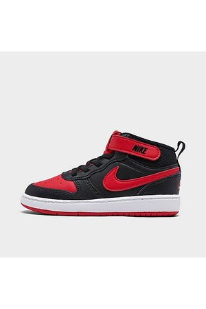Nike Kids' Toddler Court Borough Mid 2 Casual Shoes in / / Size 4.0 Leather