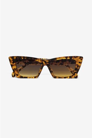 ANINE BING Levi Sunglasses in Tortoise