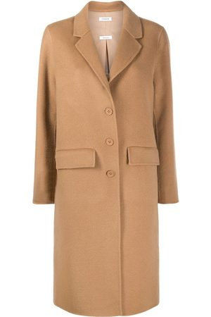 P.a.r.o.s.h. Single breasted wool coat - Neutrals