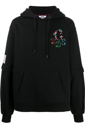 GCDS Embroidered logo hoodie