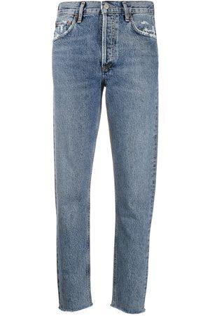 AGOLDE Women High Waisted - Jamie high-rise jeans