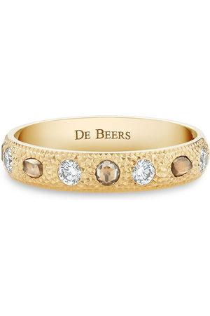 De Beers Jewellers 18kt yellow small Talisman diamond band