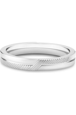 De Beers Jewellers Women Rings - 18kt white gold The Promise band ring