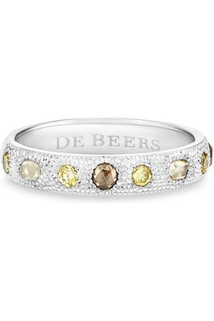 De Beers Jewellers 18kt white gold Talisman diamond band ring