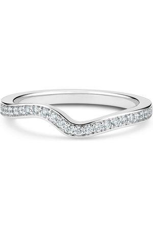 De Beers Jewellers Platinum Caress diamond band