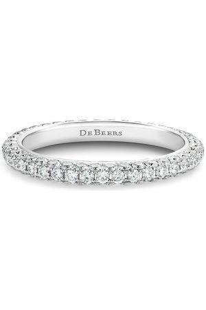 De Beers Jewellers 18kt gold DB Darling eternity diamond band