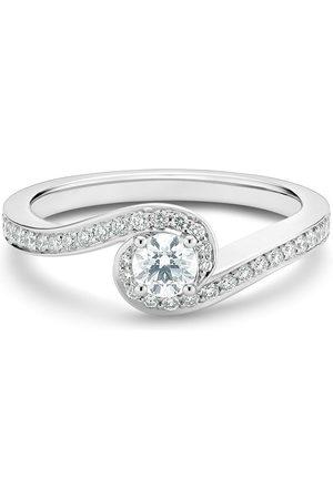 De Beers Jewellers Platinum My First De Beers Caress round brilliant diamond ring