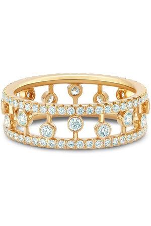 De Beers Women Rings - 18kt yellow Dewdrop diamond band