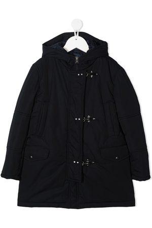 FAY KIDS Hooded duffle coat