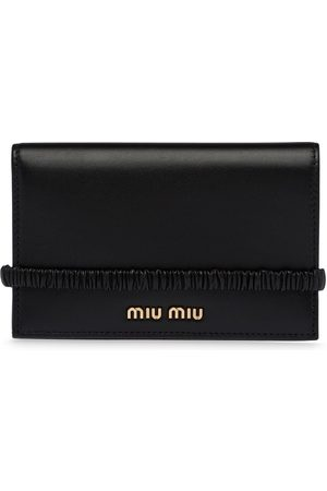 Miu Miu Large nappa leather wallet