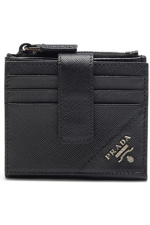 Prada Logo-lettering Saffiano wallet