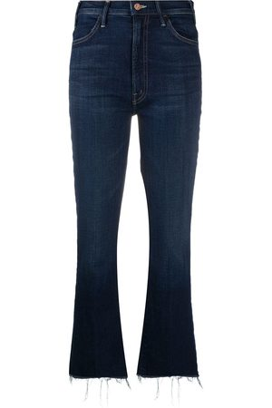 Mother Women Bootcut - Cropped bootcut jeans