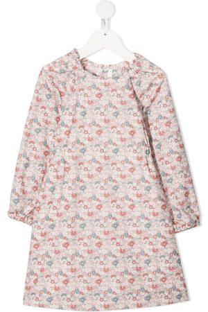 BONPOINT Girls Casual Dresses - Floral-print dress