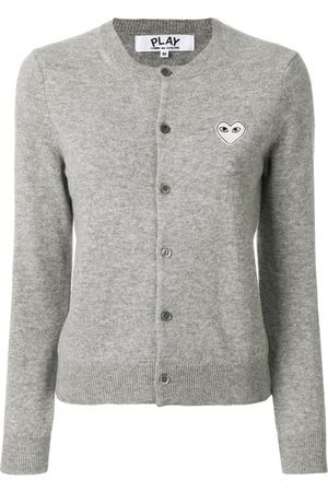 Comme des Garçons Round neck cardigan - Grey