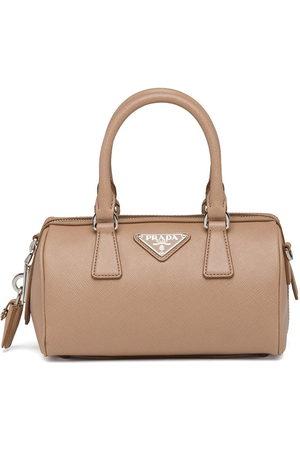 Prada Mini Saffiano leather bag - Neutrals
