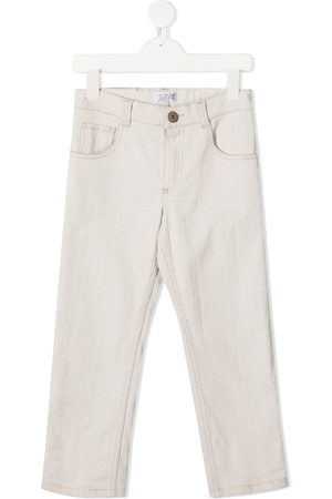 Brunello Cucinelli Slim-fit washed jeans - Grey
