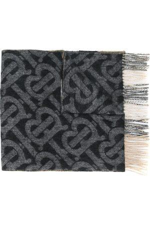 Burberry Cashmere TB motif scarf