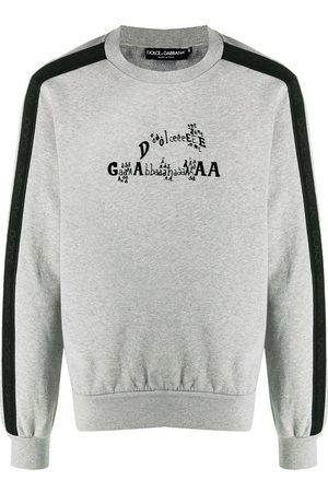 Dolce & Gabbana Logo-print sweatshirt - Grey