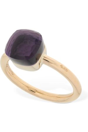 Pomellato Nudo 18kt Thin Ring W/ Amethyst