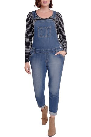 Ingrid & Isabel Women's Ingrid & Isabel Denim Maternity Overalls