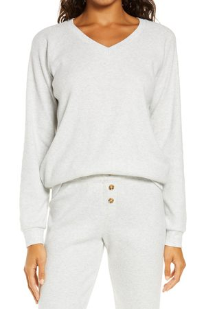 P.J.Salvage Women's Thermal V-Neck Pullover
