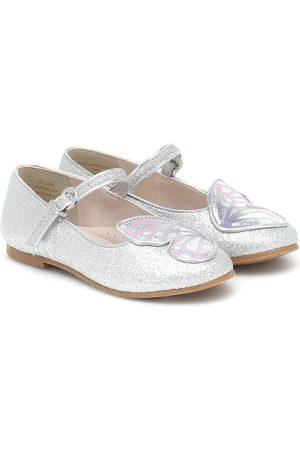 SOPHIA WEBSTER Butterfly glitter ballet flats