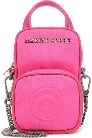 Marine Serre Moiré crossbody bag