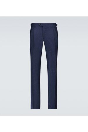 Thom Sweeney Pleated tailored pants