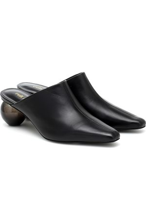 Cult Gaia Amelia leather mules
