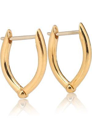 Melissa Kaye Cristina Small 18kt hoop earrings