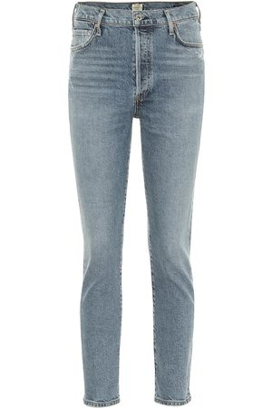 Citizens of Humanity Women High Waisted - Olivia high-rise slim jeans