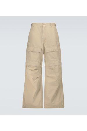 Balenciaga Wide-leg cargo pants