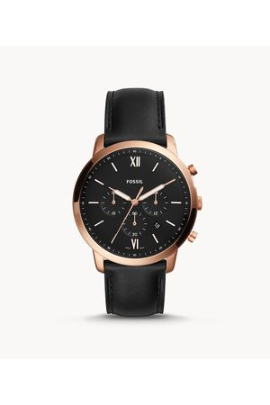 Fossil Men Watches - Men's Neutra Chronograph Leather Watch