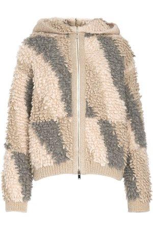 Stella McCartney Knitted hooded jacket