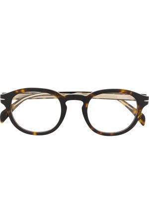 Eyewear by David Beckham DB 7017 round frame glasses