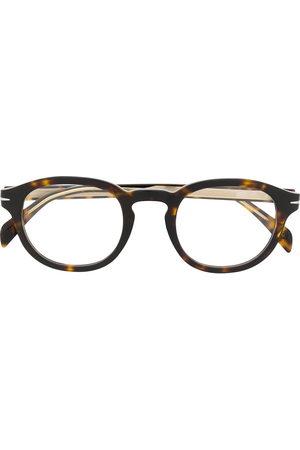 Eyewear by David Beckham Men Round - DB 7017 round frame glasses