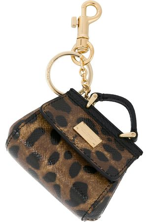 Dolce & Gabbana Mini Sicily bag keyring