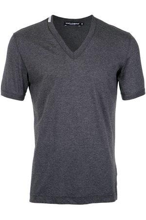Dolce & Gabbana V-neck T-shirt - Grey