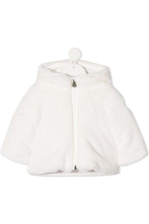 Moncler Puffer Jackets - Fluffy feather down coat