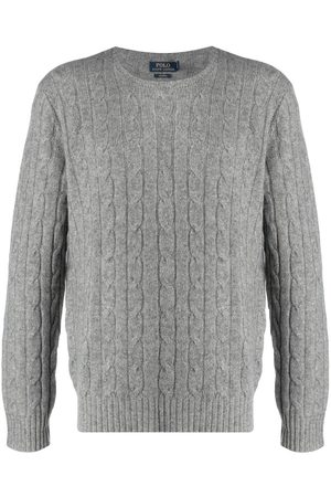 Polo Ralph Lauren Chunky cable knit jumper - Grey