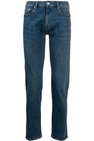 Paul Smith Men Slim - Whiskering effect slim-fit jeans