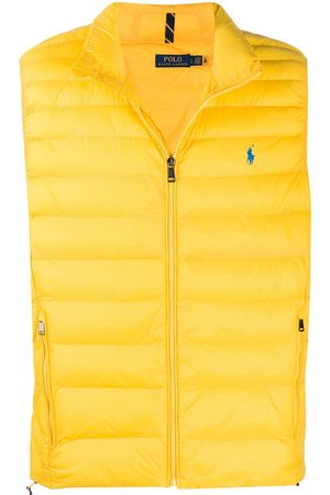 Polo Ralph Lauren Men Gilets - Logo-embroidered quilted gilet