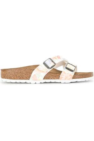 Birkenstock Women Sandals - Yao floral print sandals
