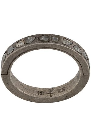 Parts of Four Rings - Diamond detail band ring