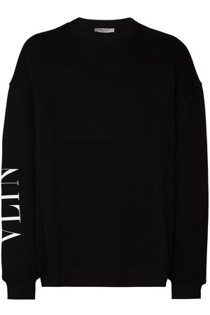 VALENTINO VLTN logo-print sweatshirt
