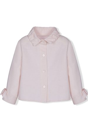 Lapin House Long sleeves - Bow detail long-sleeved shirt