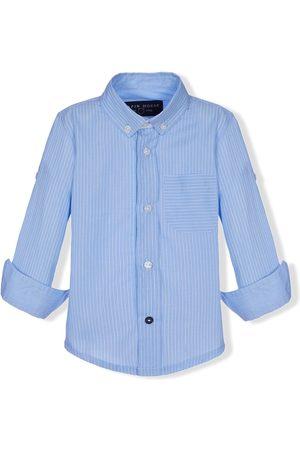 Lapin House Stripe-print button-down shirt