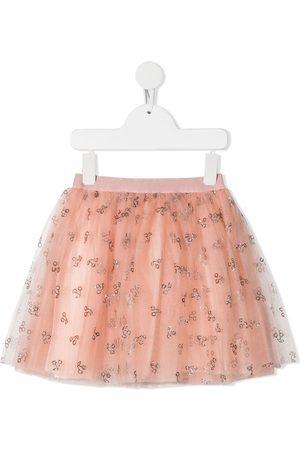 BONPOINT Glitter cherry tutu skirt