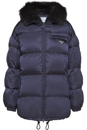 Prada Gabardine puffer jacket